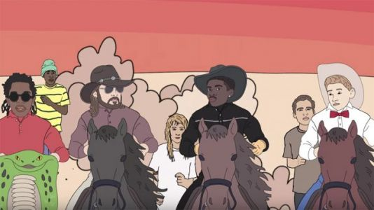 Lil Nas X Saves Creepy Aliens in Animated 'Old Town Road' Area 51 Video