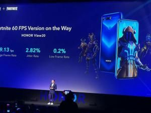 The Honor View 20 Will Support 60FPS and 60Hz Fortnite