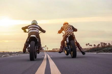 The Roland Sands Moto Beach Classic mixes music, surfing, and moto racing