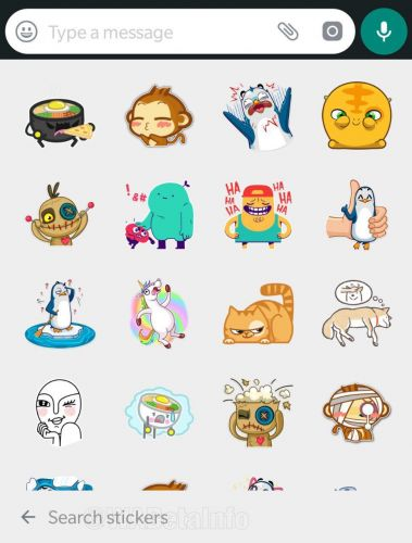 WhatsApp is working on stickers search feature on Android