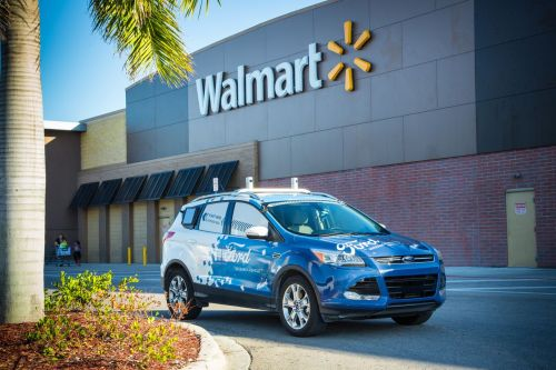 Ford teaming up with Walmart and Postmates on robot deliveries