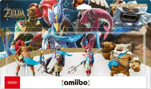 Breath Of The Wild Champion Amiibo Detailed
