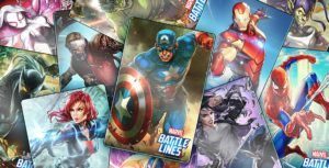 Marvel Battle Lines is an engaging superhero card collector
