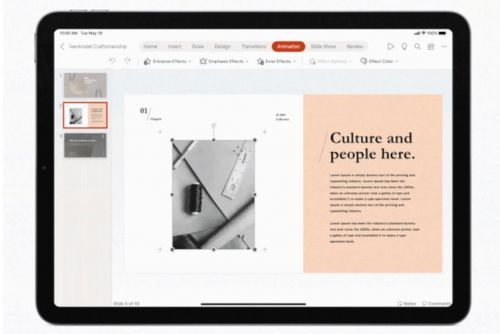 Microsoft updates Office for iPad apps with mouse and trackpad support