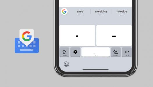 Google Gboard for iOS adds Morse code with help from developer with cerebral palsy