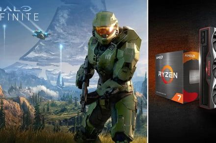 AMD is releasing the coolest Halo Infinite-themed GPU ever