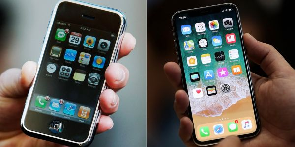RANKED: The best-looking iPhone designs, from the original iPhone to the iPhone X