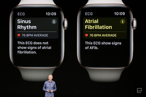 Apple's latest Watch can sense falls and heart irregularities