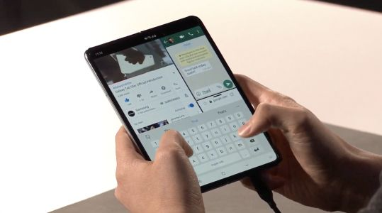 Samsung unveils its foldable phone called Galaxy Fold, coming April 26