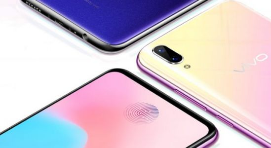 Vivo X21s unveiled with in-display fingerprint sensor, teardrop notch