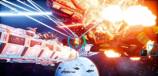 Omnibion War brings Star Fox style shooting back to PC
