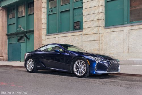 2017 Car of the Year runner-up: The epic Lexus LC 500 and LC 500h