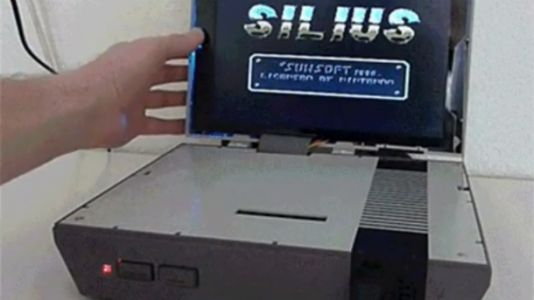 This NES Laptop Mod Outshines The Classic Edition