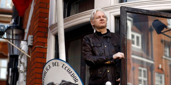 A British judge just accused Julian Assange of cowardice after the Wikileaks founder failed to overturn his arrest warrant