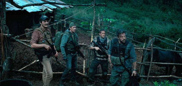 Netflix Original Movie TRIPLE FRONTIER Is A Thrilling Action Adventure Full Of Twists - One Minute Movie Review