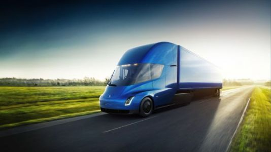 The Tesla Semi acceleration sounds like it's straight from the future