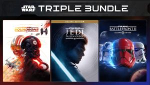 Star Wars Triple Bundle is 50 percent off on Epic Games Store