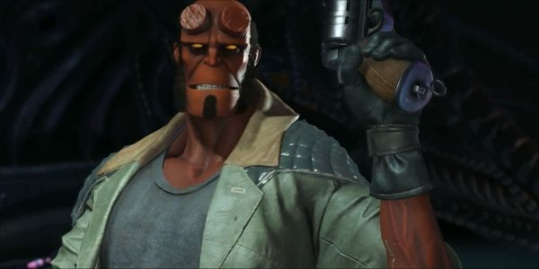 New Injustice 2 Video Reveals Hellboy Release Date