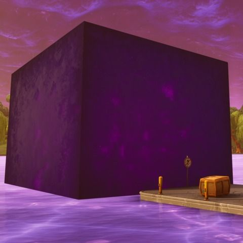 Fortnite's Cube Plunges Into Loot Lake