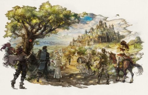 Octopath Traveler Getting Prequel Game On Mobile