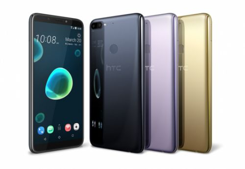 HTC Desire 12, 12+ boast big displays and dual cameras