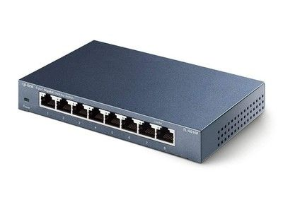 Add 8 ports to your network with TP-Link's Gigabit Ethernet switch for $20