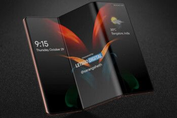 Check out these fabulous looking renders of what could be the 5G Samsung Galaxy Z Fold 3