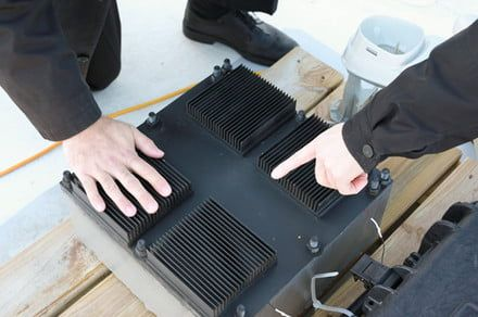 It doesn't look like much, but this black box pulls energy out of thin air