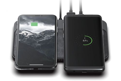 Nomad's latest wireless charger can fast-charge two phones at once