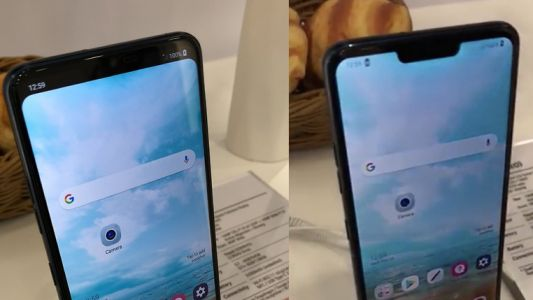 The LG G7 notch will be optional
