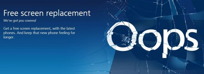 O2 Outs Free Screen Replacement Program For Select Phones