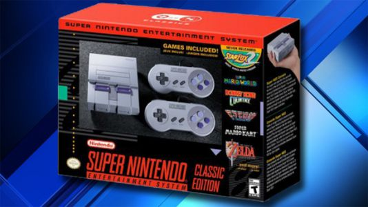 You can have a Super NES Classic in your hands by next week