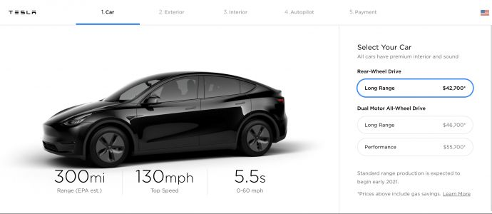 Tesla unveils Model Y as electric vehicle race heats up, price starts at $39,000