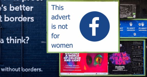 ACLU says Facebook ads allow employers to favor men over women