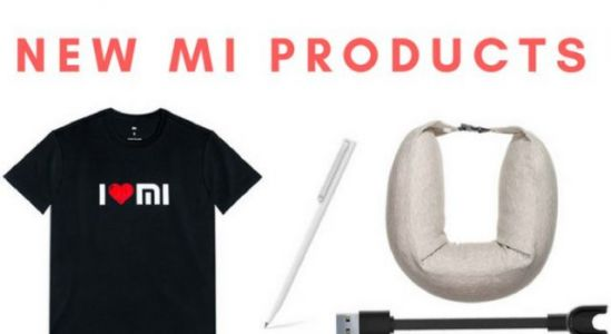 Xiaomi launches Mi Travel U-Shaped Pillow, Mi Rollerball Pen, Mi Band 2 Charge Cable in India