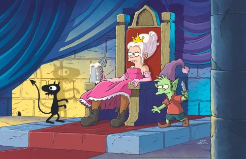 Netflix's Disenchantment: What We Learned About Matt Groening's New Show At Comic-Con 2018