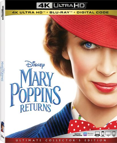'Mary Poppins Returns' 4K, Blu-ray, DVD, Digital Release Dates and Details