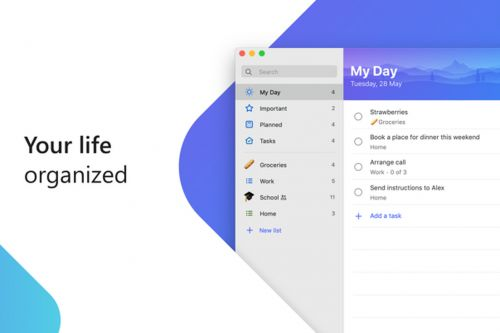 Microsoft To-Do takes another step towards replacing Wunderlist with Mac release