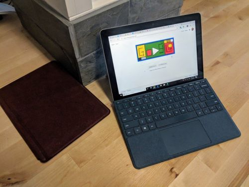 Opt out of S Mode to change the default search on your Surface Go