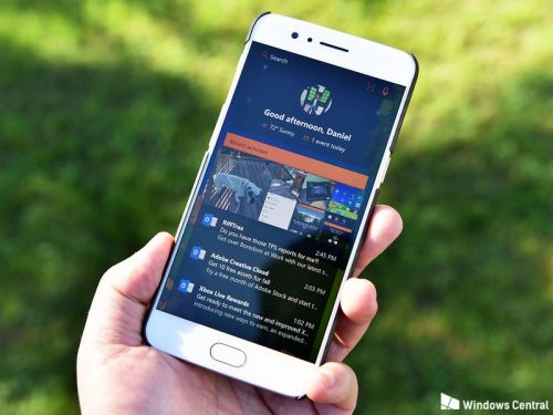 Microsoft Launcher beta gets new visual search and Rewards features