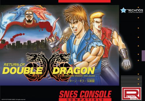 Japan-only 'Double Dragon' game comes to the Super NES this summer