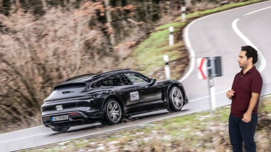 Porsche's Taycan Cross Turismo EV isn't as confusing as it looks