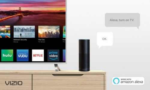 Vizio Alexa control goes live for 4K TVs