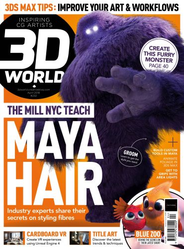Master Maya Hair in issue 232 of 3D World - out now!