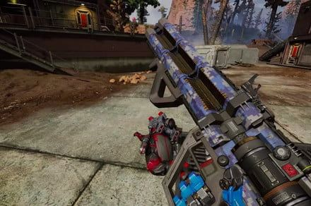 Apex Legends adds its first new gun, the Havoc energy rifle
