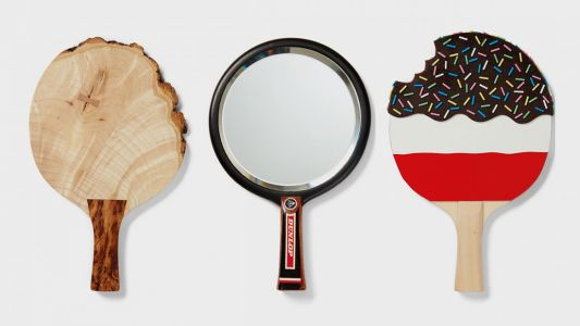 Ping pong art auction serves up charity support