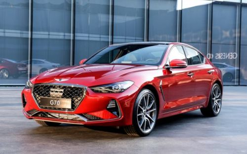 2019 Genesis G70 takes a strike at German luxe