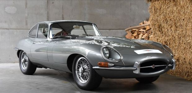 This 1962 Jaguar E-Type is a collector's dream come true