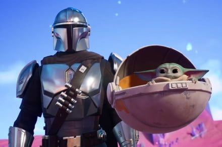 Fortnite Chapter 2 - Season 5 features the Mandalorian and Baby Yoda