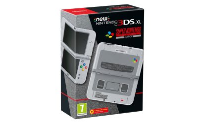 SNES-inspired 3DS XL hits Europe in October